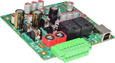 10A UPSU - 12V or 24V Supercapacitor or Battery UPS as PCB version in PC104 form factor